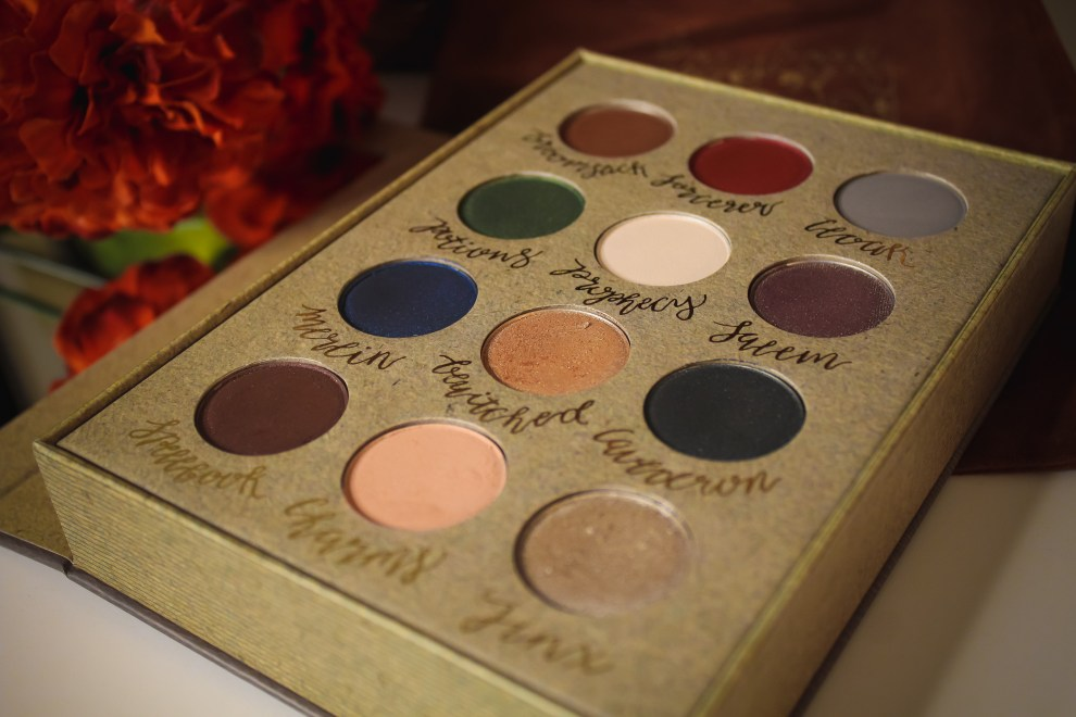Storybook Cosmetics Wizardry and Witchcraft Palette 4
