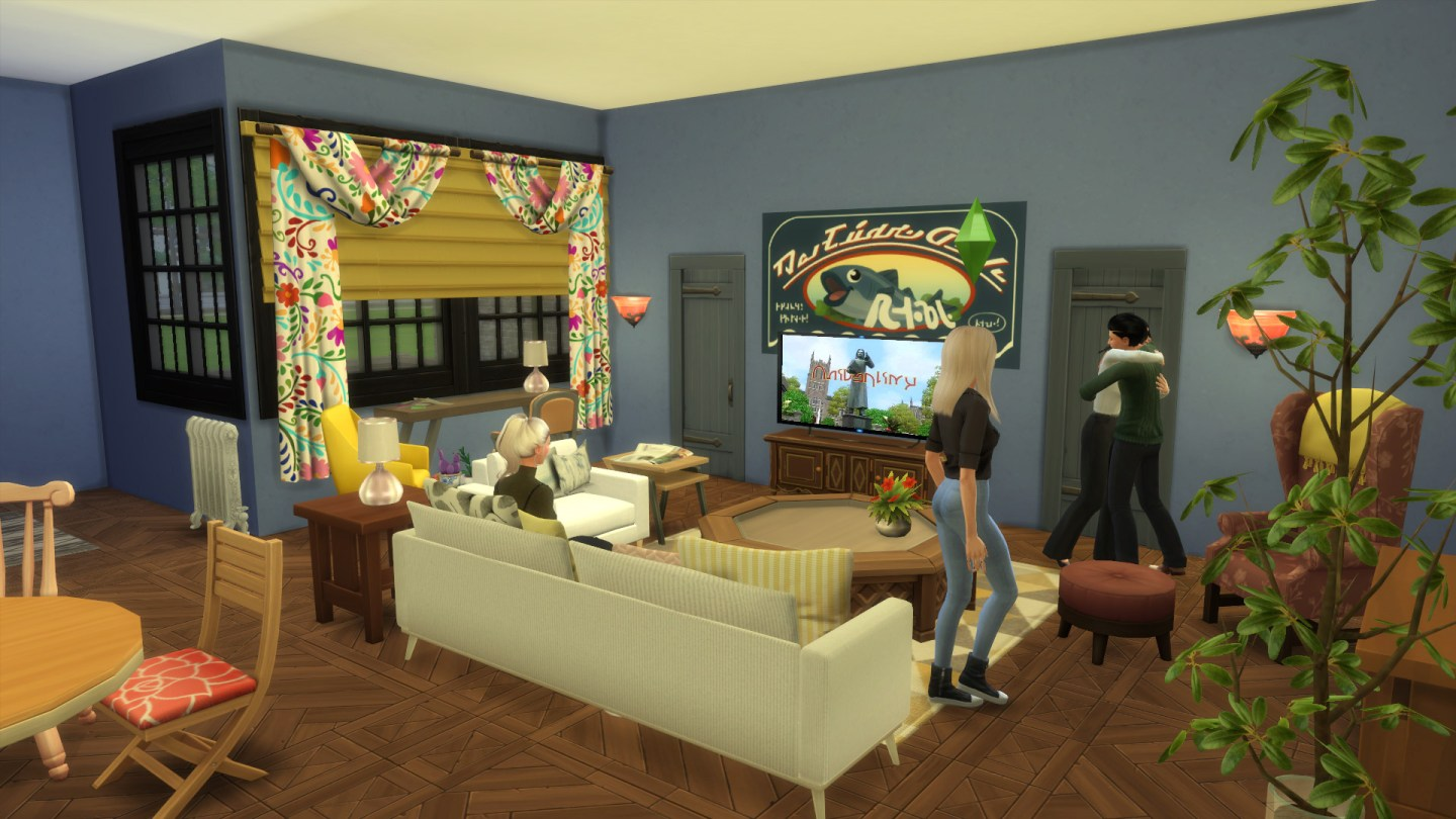 Friends Apartment Sims 2