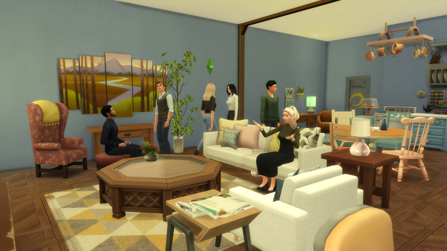Friends Apartment Sims 6