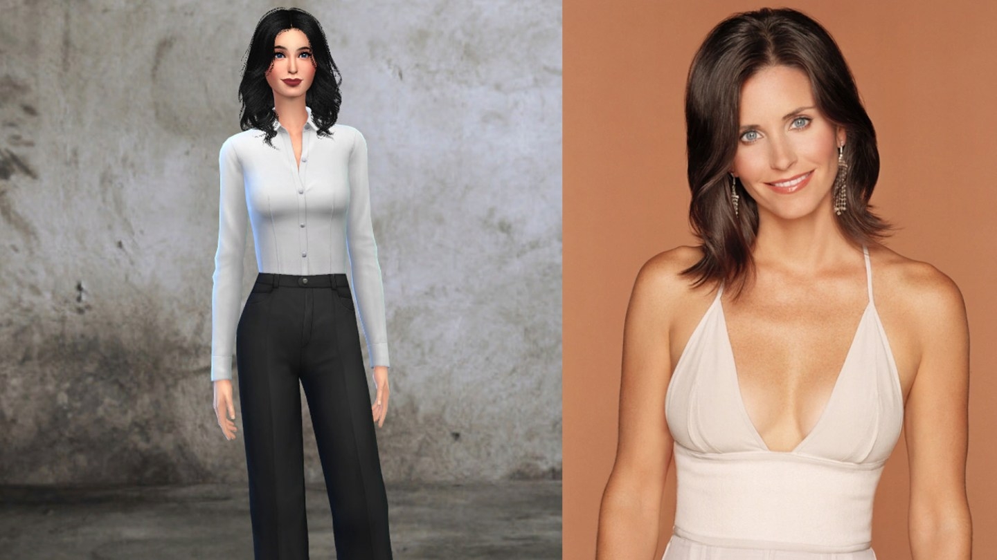 Friends Monica Geller Sims 4
