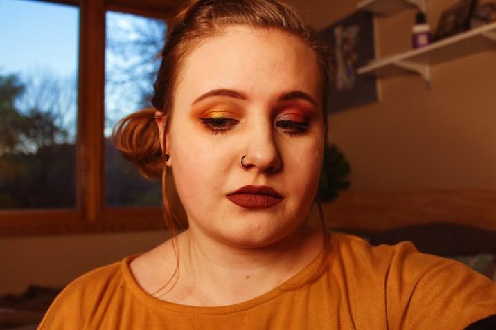 Mae Polzine Fall Work Makeup 2