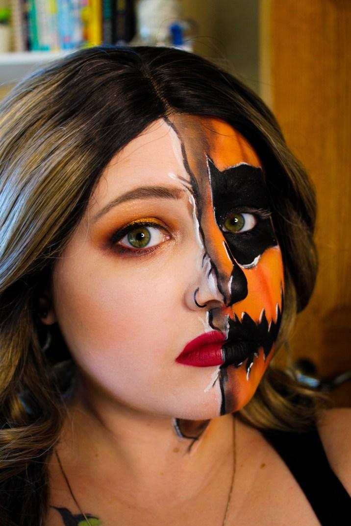 Mae Polzine Pumpkin Makeup Look 3