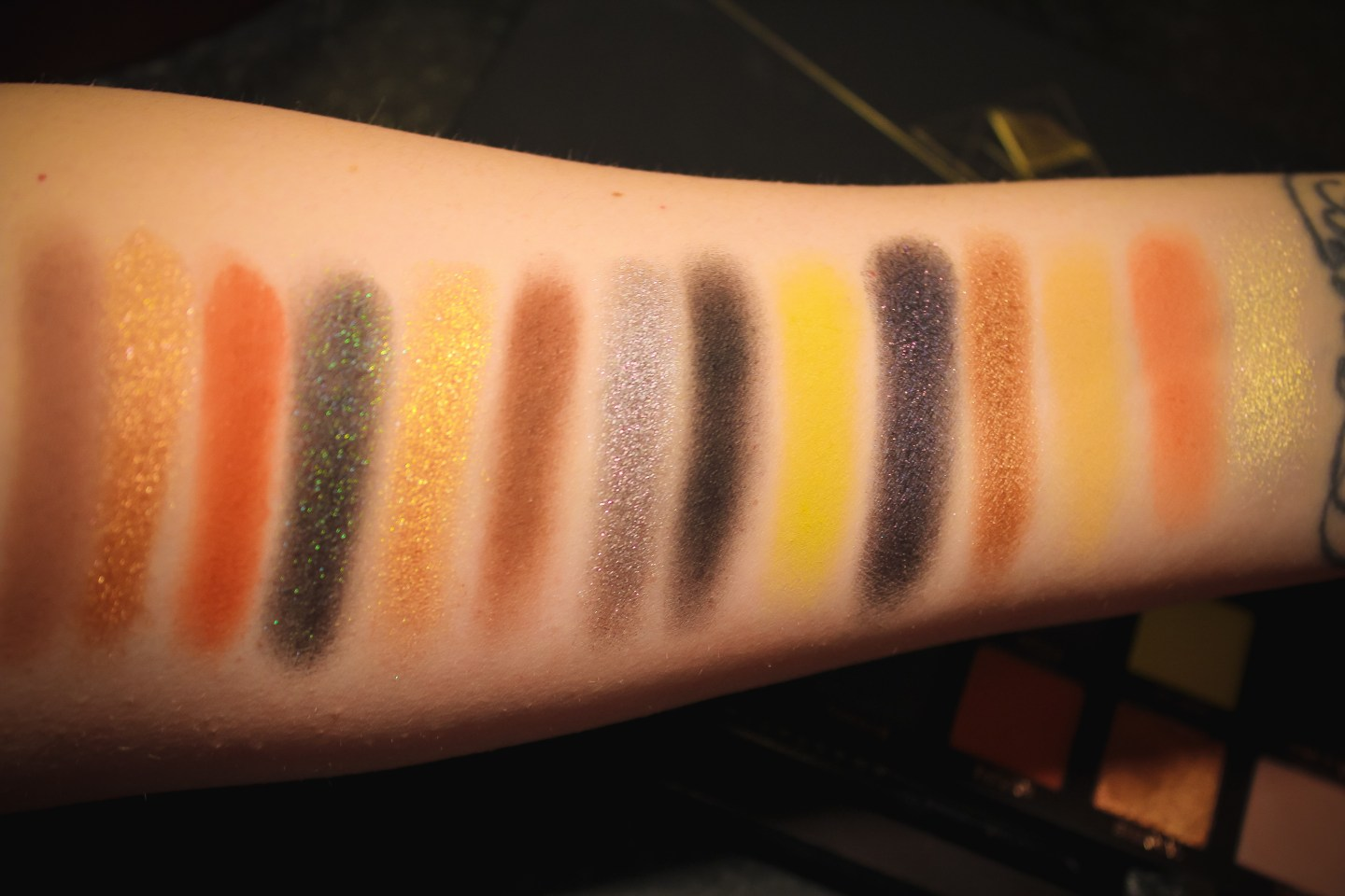 ABH Prism Palette Swatches