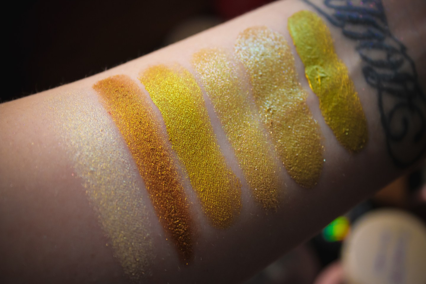 ColourPop Jelly Much Shadows Yellow