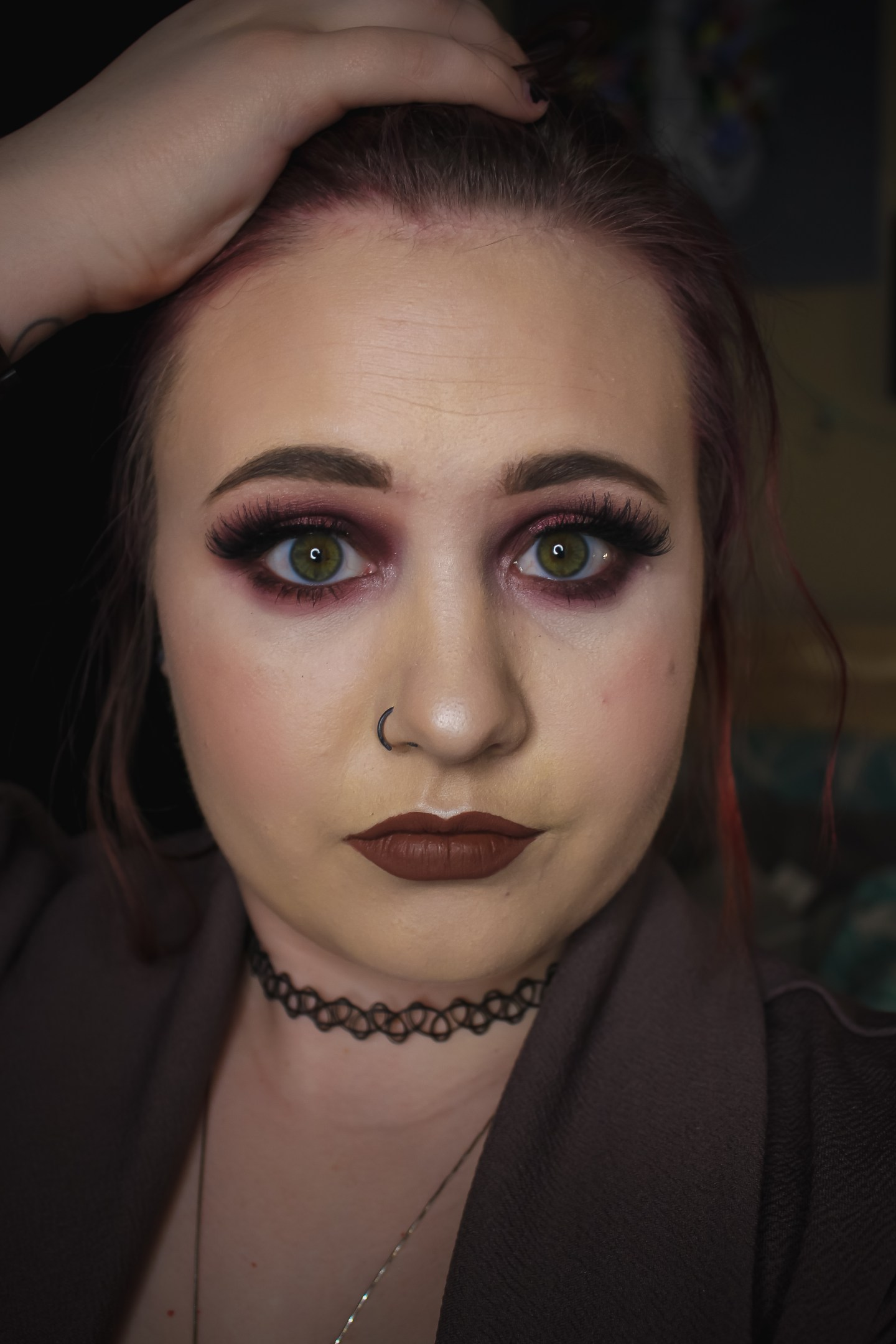 DC berries and cream halo look 1