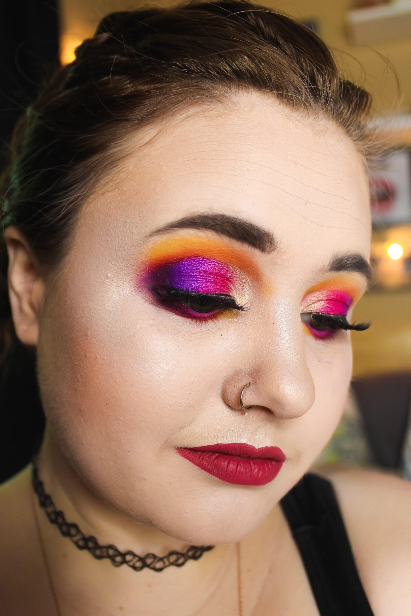 3 Looks 1 Palette: Anastasia Beverly Hills Alyssa Edwards Palette 5