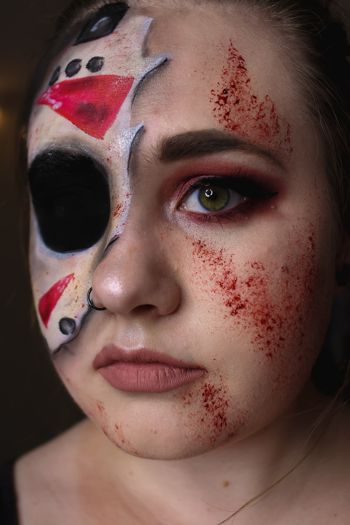 You're Doomed! Jason Voorhees from Friday the 13th Makeup Look 7