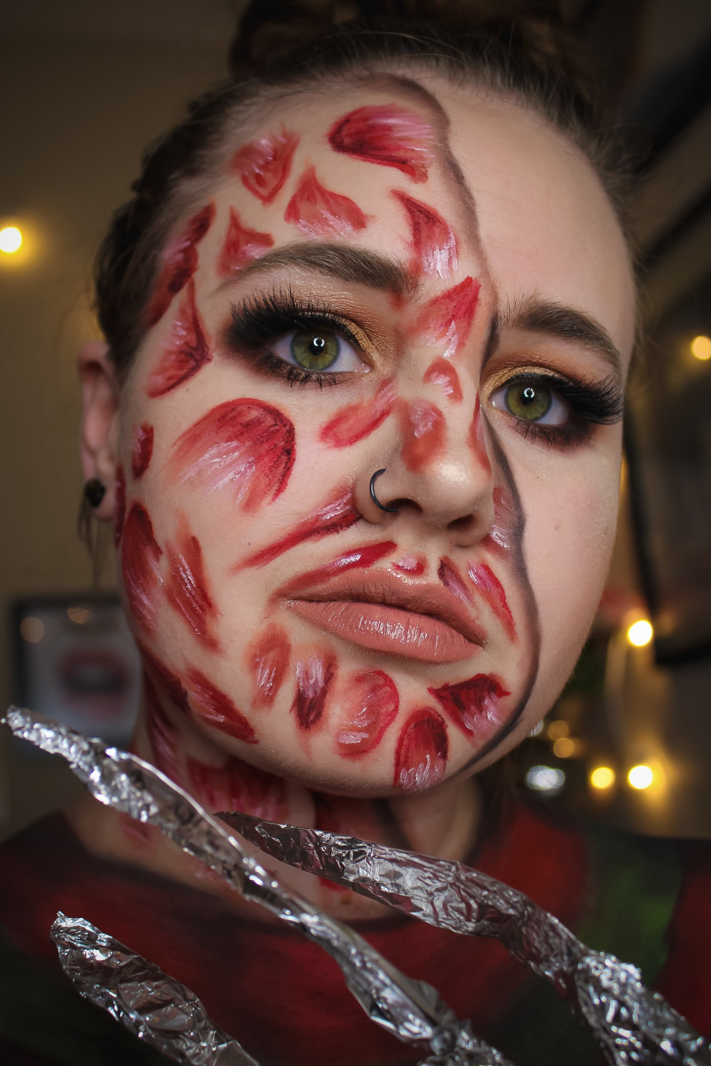 Why are you Screamin'? Freddy Krueger from A Nightmare on Elm Street Makeup Look 2