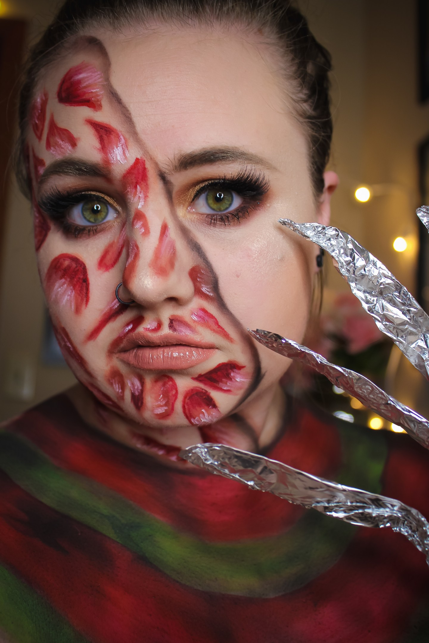 Why are you Screamin'? Freddy Krueger from A Nightmare on Elm Street Makeup Look 6