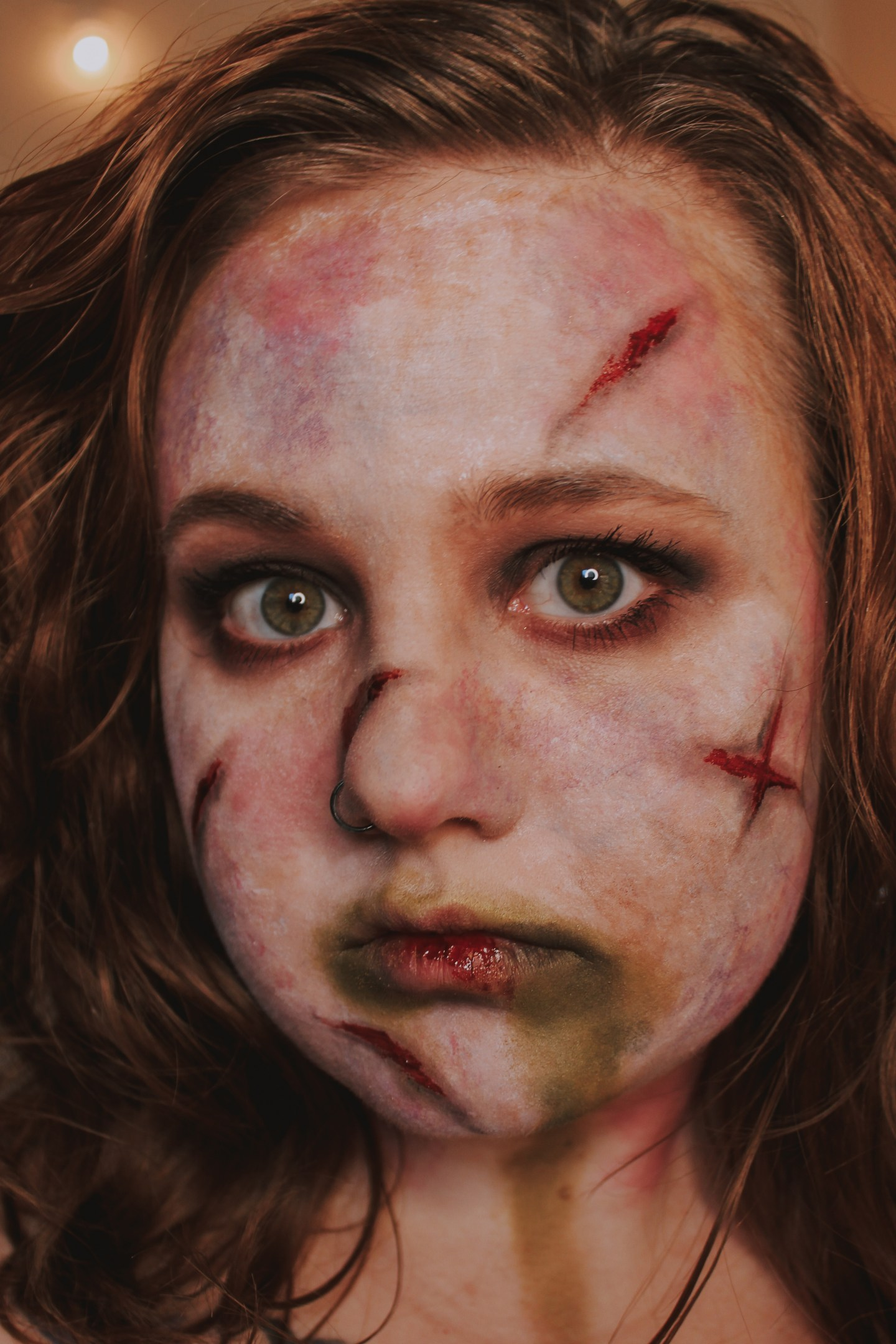 The Power of Christ Compels You! Regan from the Exorcist Inspired Makeup Look 2