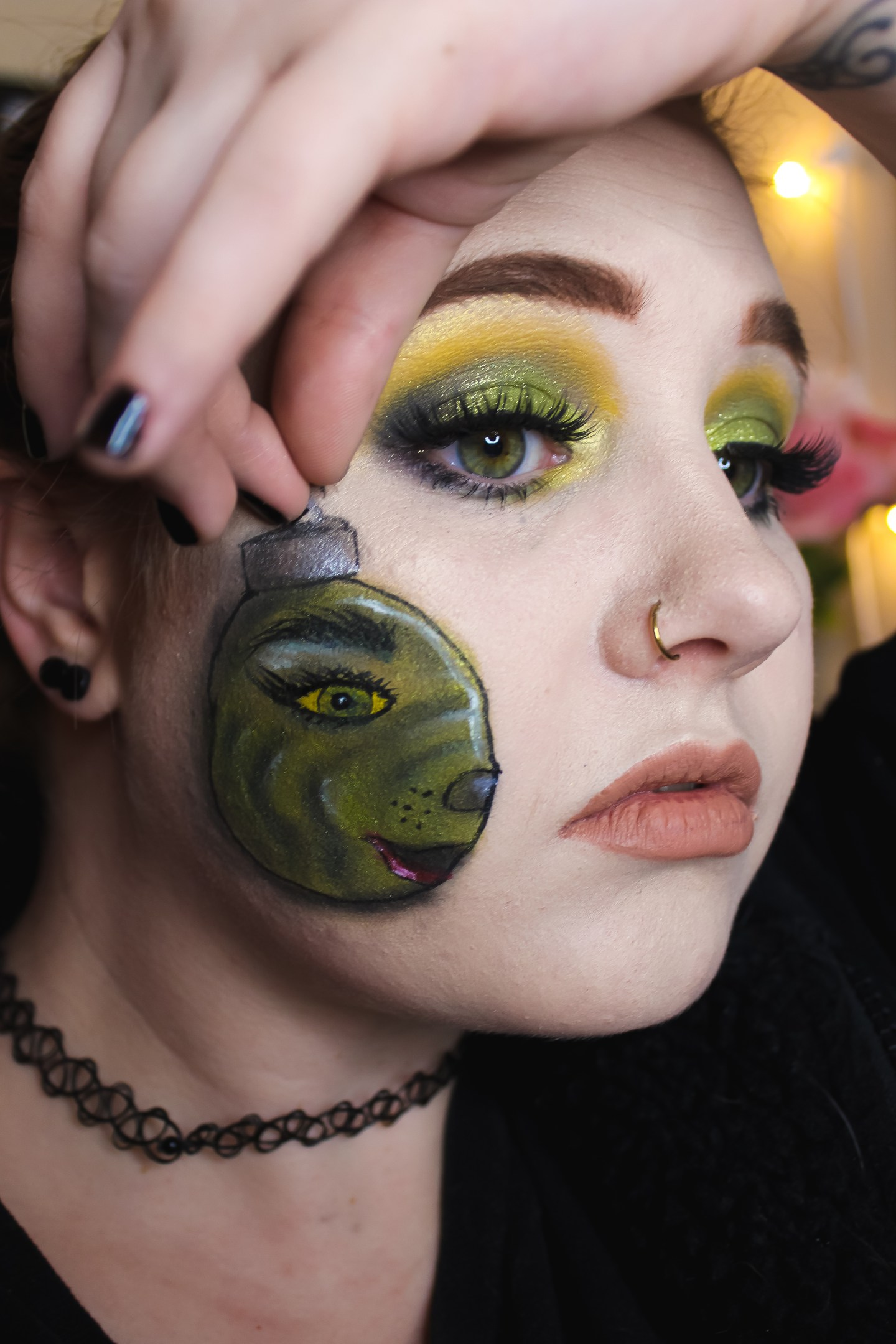 You're a Mean One Mr. Grinch, Ornament Look Inspired by Peachcait 4