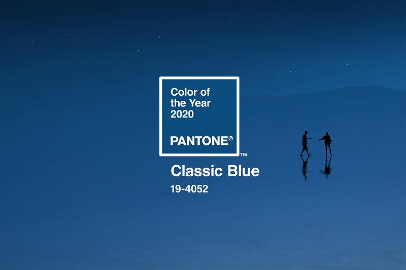 Pantone Color of the Year (2020): Classic Blue Inspired Eyeshadow Look 1