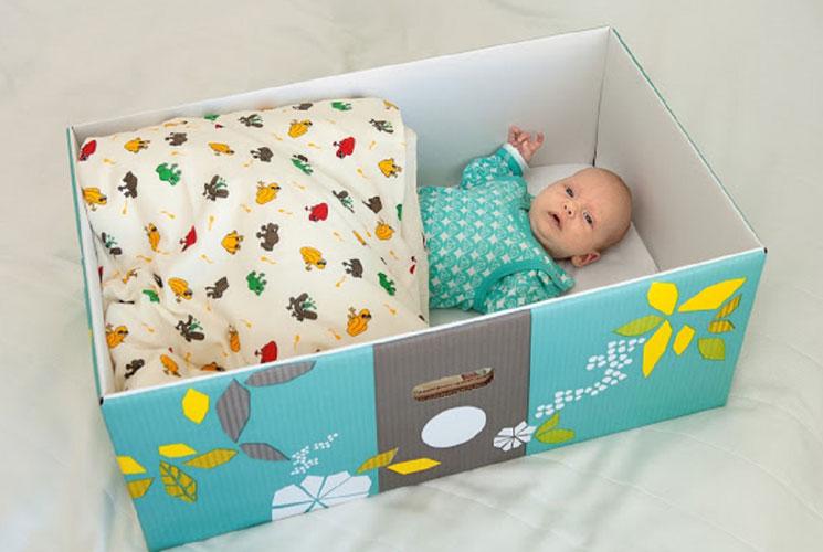 Bebês na Finlândia