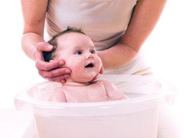 Banho humanizado no bebê