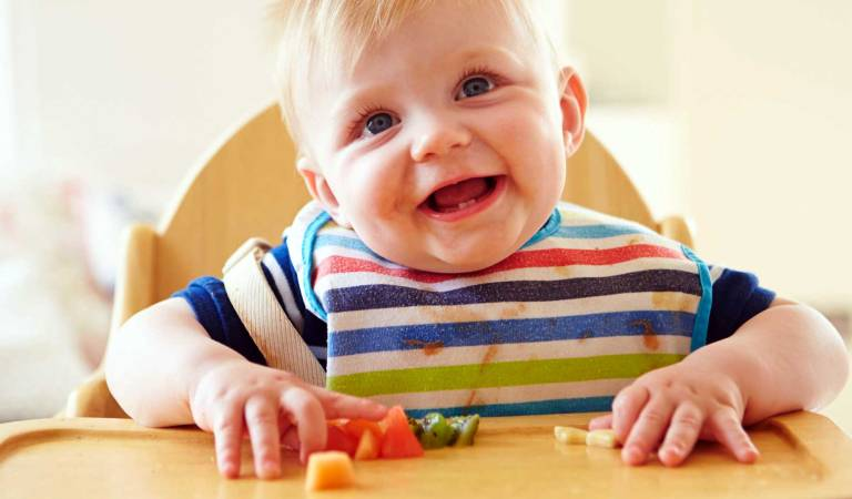 O lado fascinante do Baby Led Weaning (BLW)