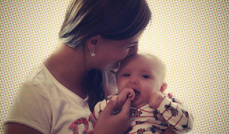 A beleza em ver nossas amigas serem mães