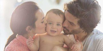 beijar seu bebê