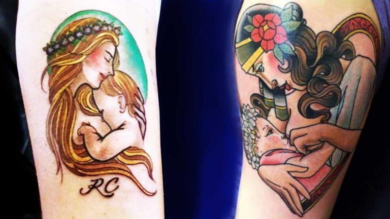tatuagens de amamentação