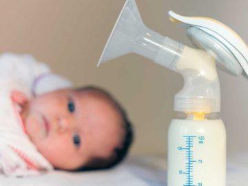 bombinha de tirar leite, Quanto tempo o leite materno