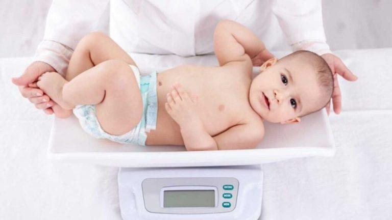 Tabela de crescimento do bebê