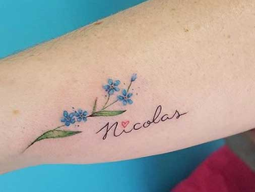 Tatuagem com Nome de Filho: Ideias Lindas Para Inspirar