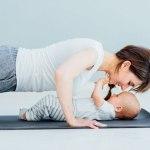 yoga mamãe e bebê