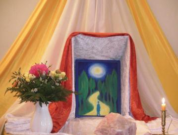 Märchen erzählen lernen in entspannter, festlicher Atmosphäre