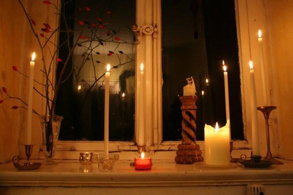 Licht im Haus bringt Glück