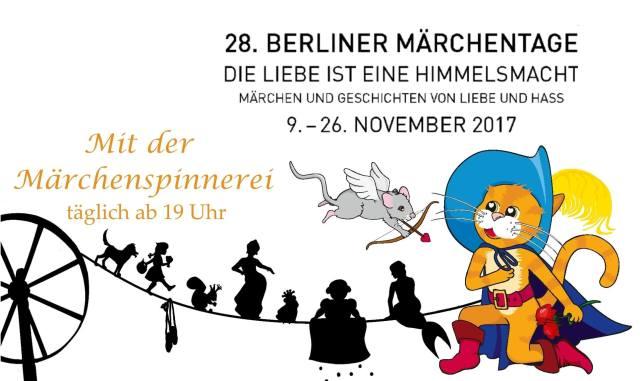 28. Berliner Märchentage (Märchenland e.V.) - täglich bei der Märchenspinnerei