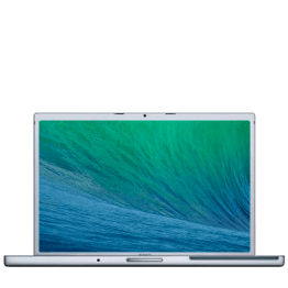 Macbook Pro 17 inch Early 2008 - MAE Recovery