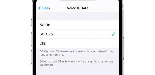 Usar siempre conexión 5G en tu iPhone