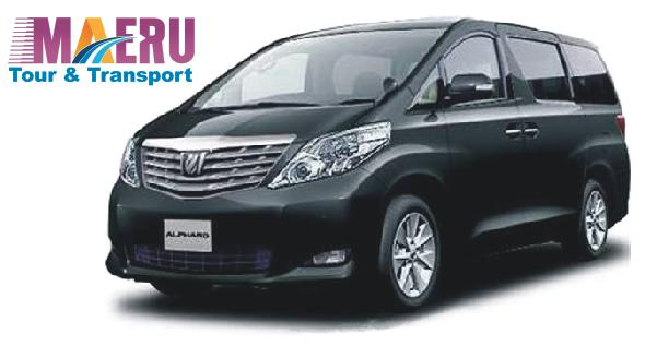 Toyota Alphard Maeru Tour & Transport
