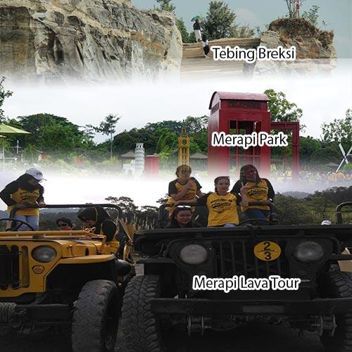 Trip Jogja 1D Merapi Lava Tour Merapi Park Tebing Breksi
