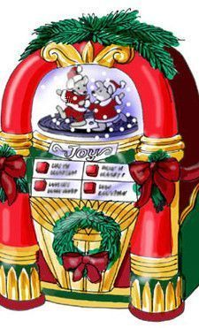 Gif Jukebox de Noël