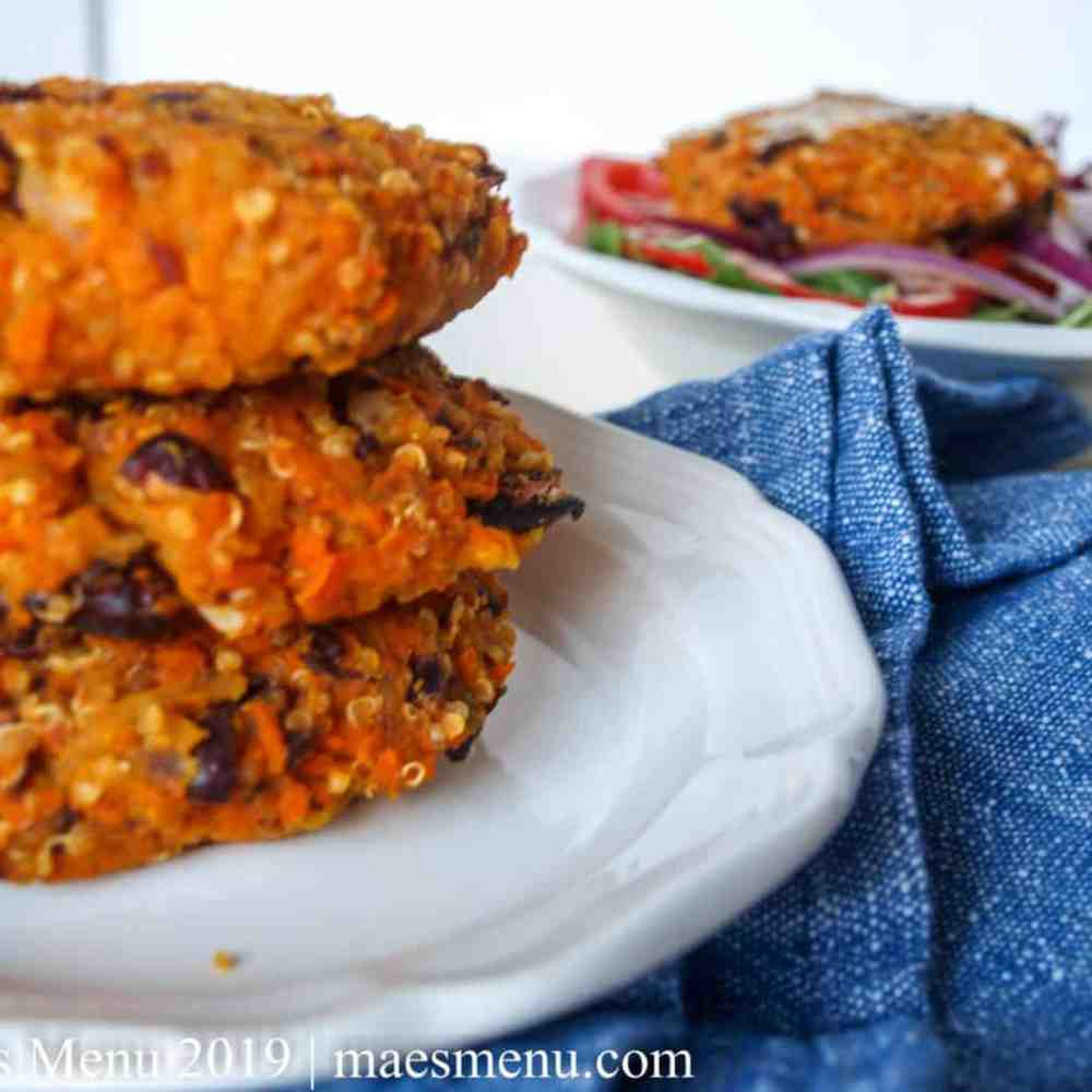 Sweet Potato Hash Brown Burgers