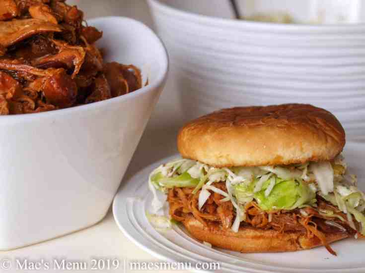 Honey BBQ Crockpot Chicken