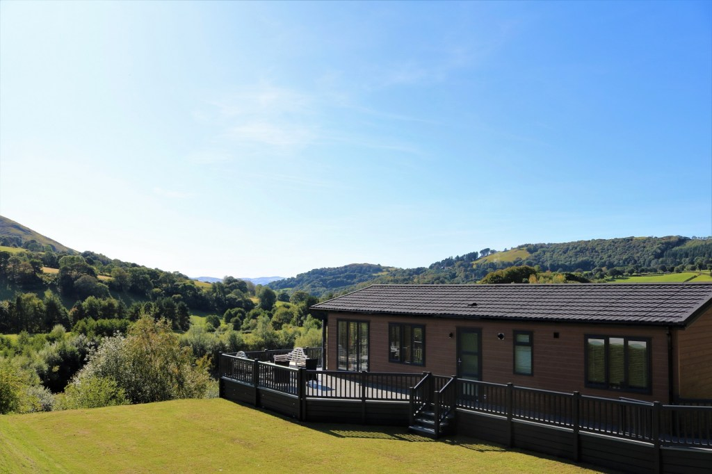 Luxury Holiday Lodges for sale at Maes Mynan Park