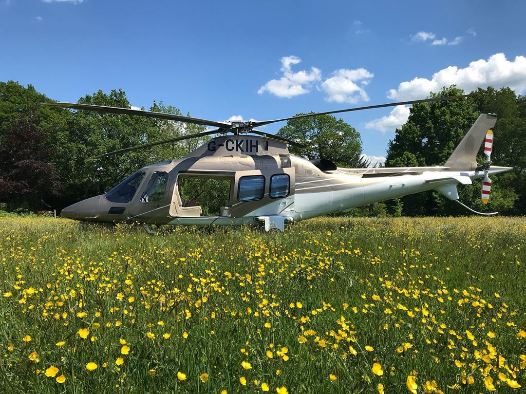 Atlas Helicopters Maes Mynan Park
