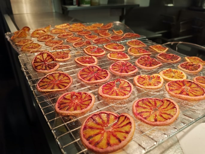 Dehydrated Blood Oranges Piccadilly Inn