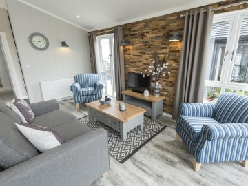 Country Lodge - Lounge - Tingdene Lodges