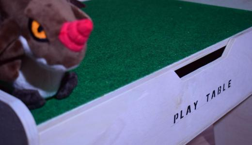 DIYプレイテーブルの作り方!二面性と収納の変化がうれしい