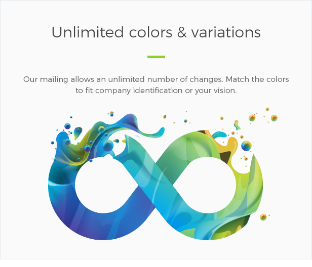 Unlimited Colors and Variations