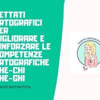 Dettato ortografico - CHE-CHI-GHE-GHI