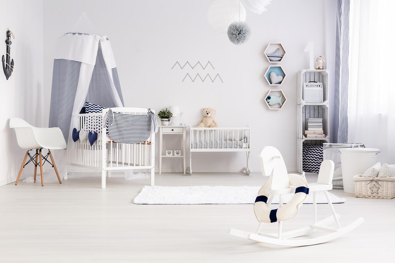 La cameretta del bebè: arredarla senza dimenticare che è un luogo magico