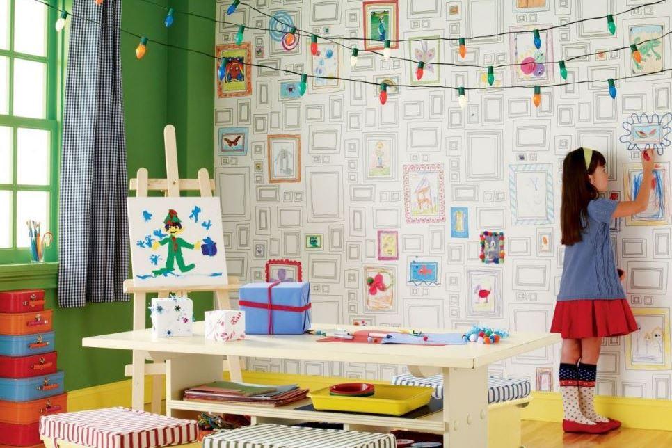 Carta da parati nelle camerette dei bimbi: la mia nuova passione!