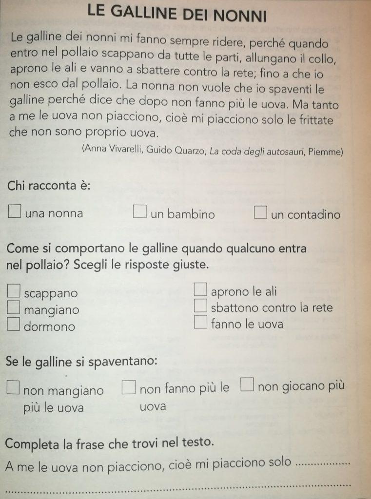 Dettati Ortografici Per Linizio Dellanno Scolastico Maestra E