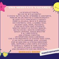 Poesia per fine anno: una meritata vacanza di Germana Bruno