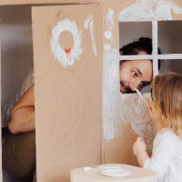 Casette di carta fai da te per bambini - Maestraemamma