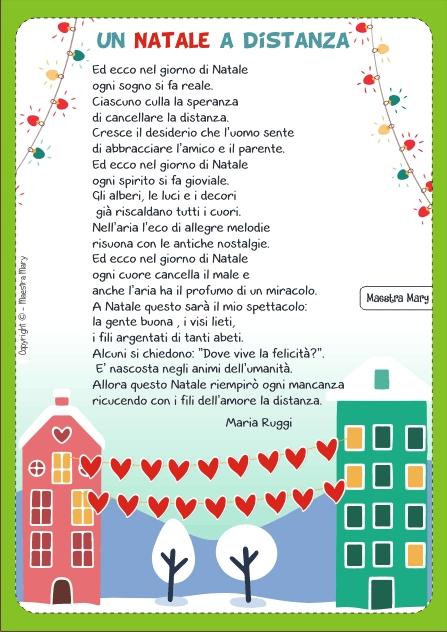 Abbiamo raccolto poesie adatte ai bambini, alcune più brevi. Poesie E Filastrocche Di Natale Maestra Mary