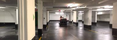 Limpiar garajes